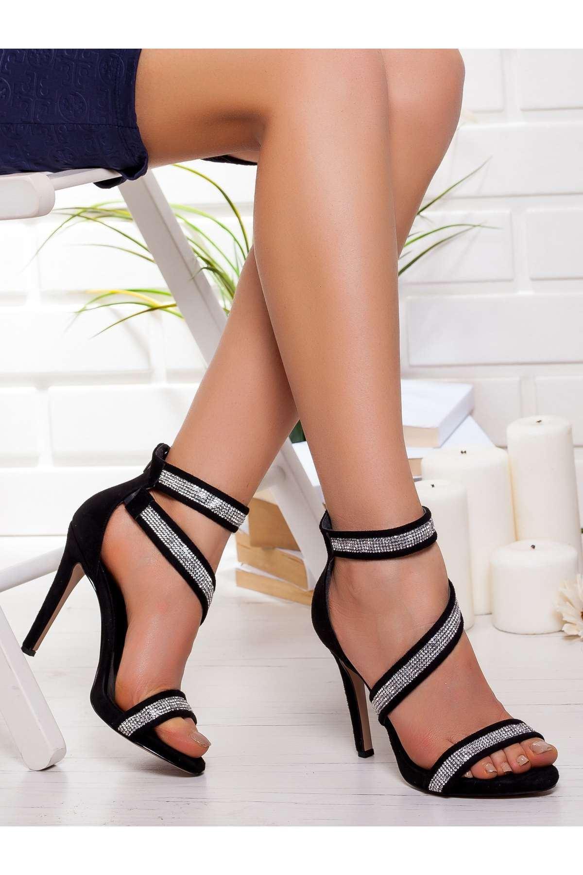 Grace Platform Ayakkabı SIYAH
