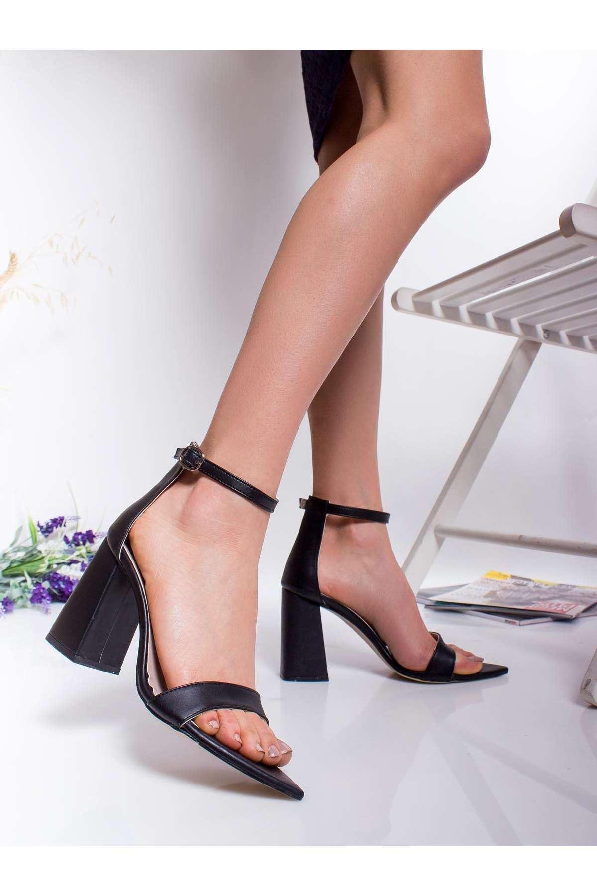 Gia Topuklu Ayakkabı SIYAH