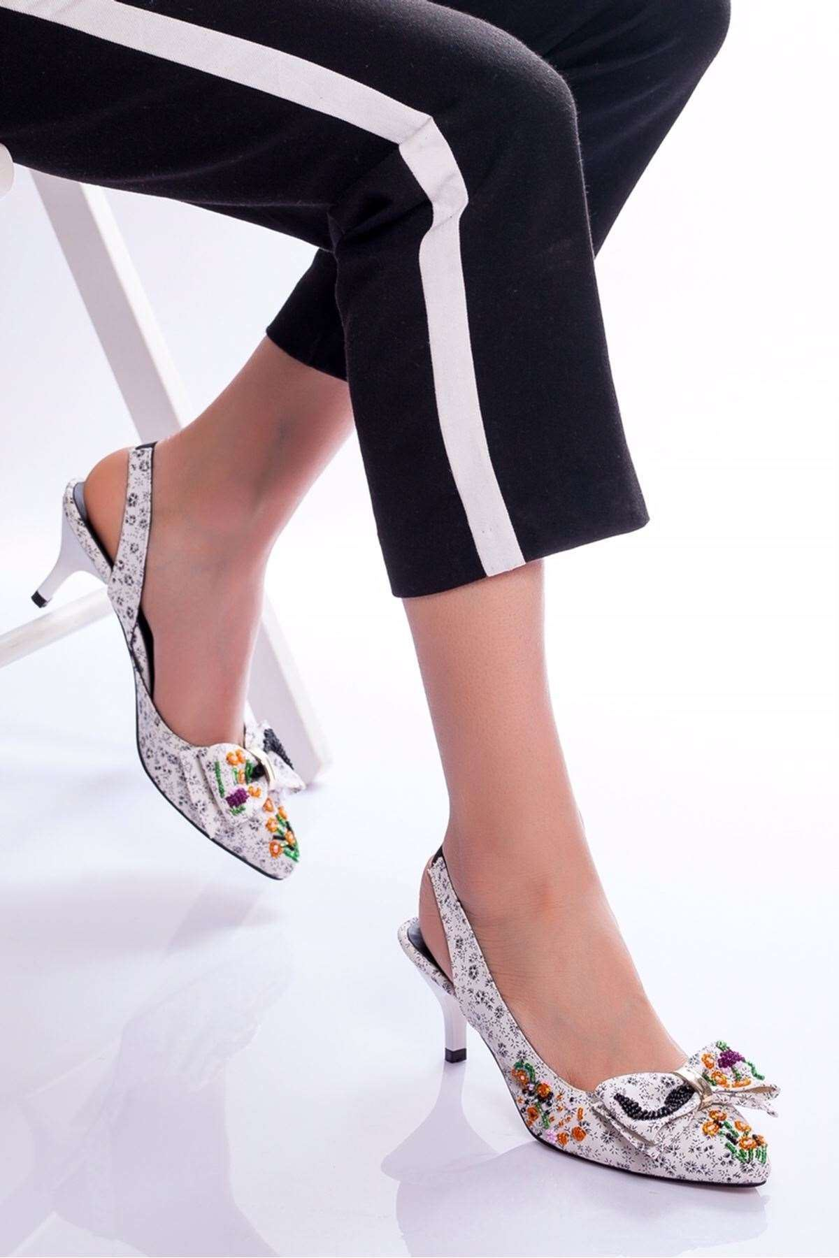Hera Topuklu Ayakkabı BEYAZ