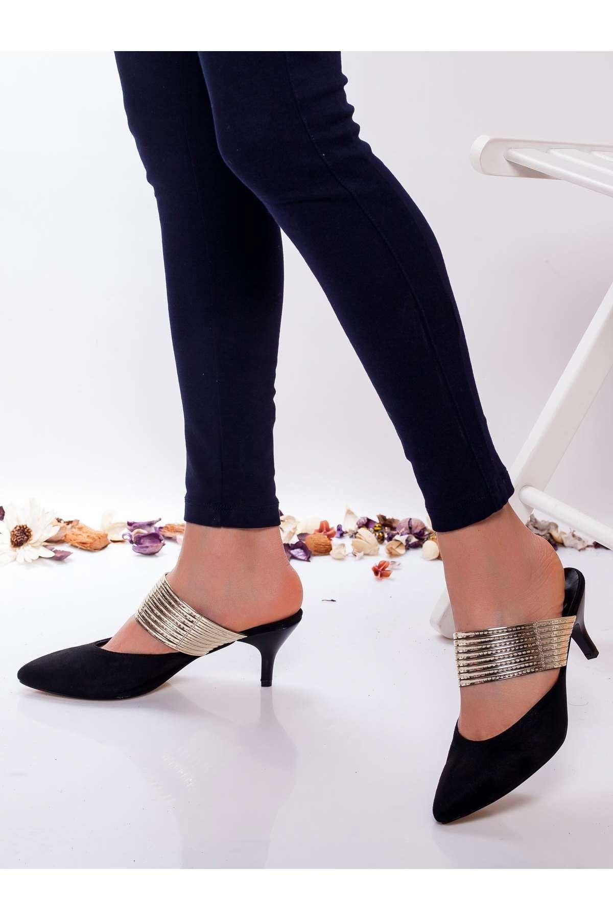 Alegra Topuklu Ayakkabı SIYAH