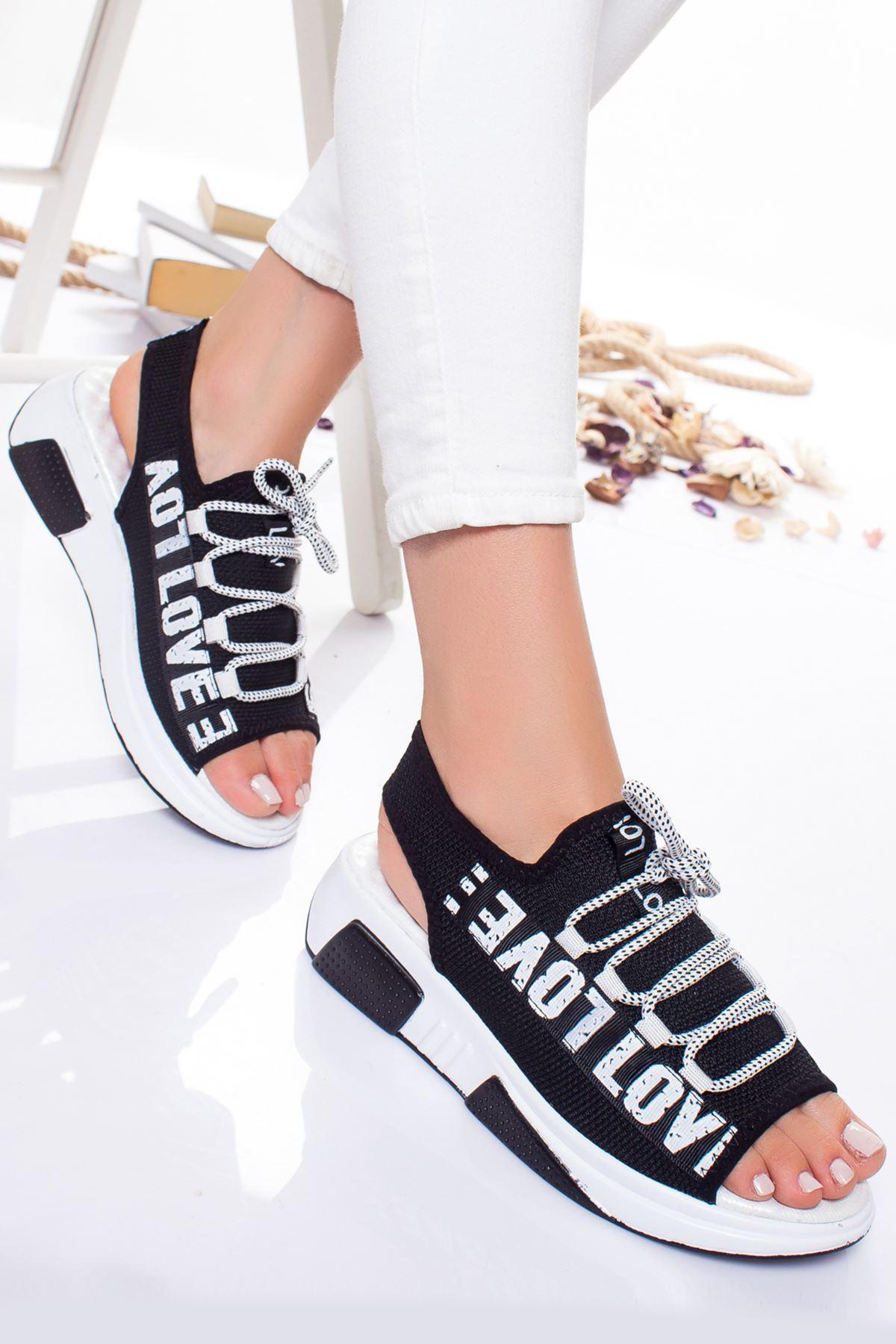 Bels Sandalet SIYAH