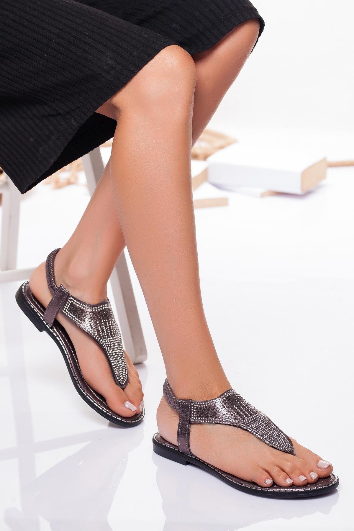 Noks Sandalet PLATİN