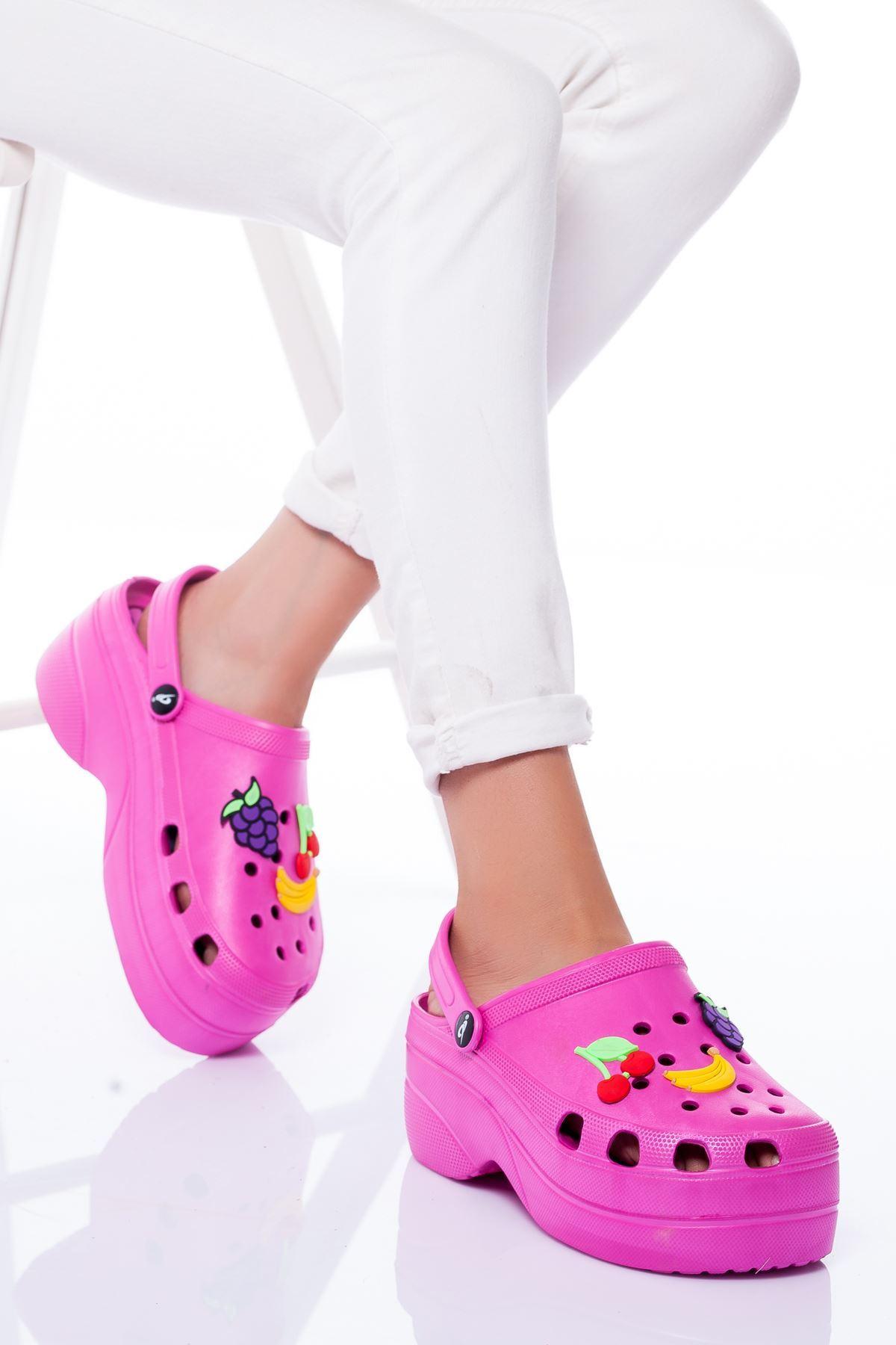 Daisi Sandalet PEMBE