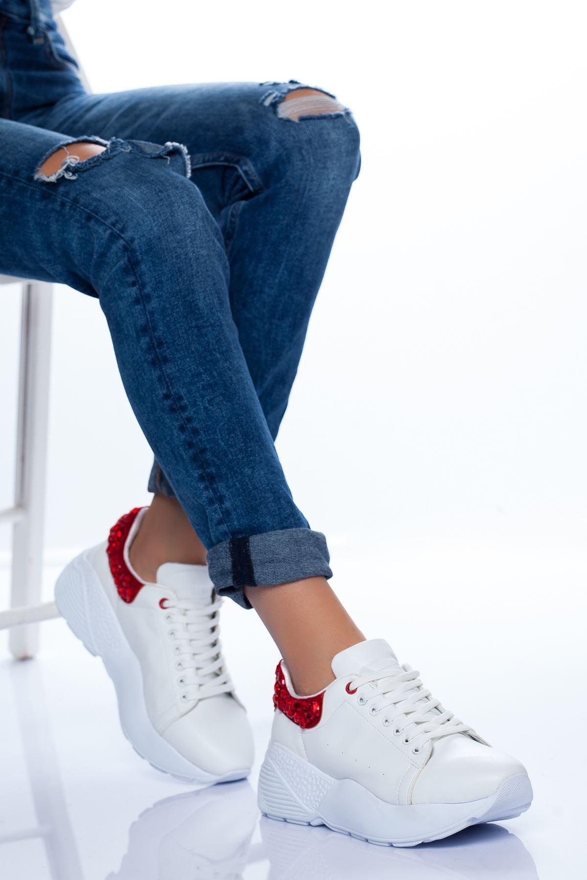 Sierra Spor Ayakkabı BEYAZ