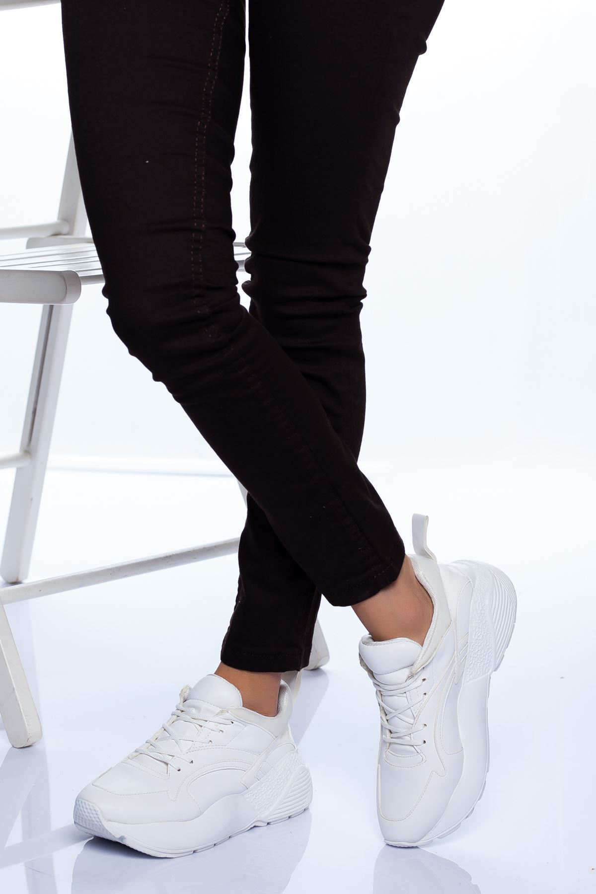 Lexi Spor Ayakkabı BEYAZ