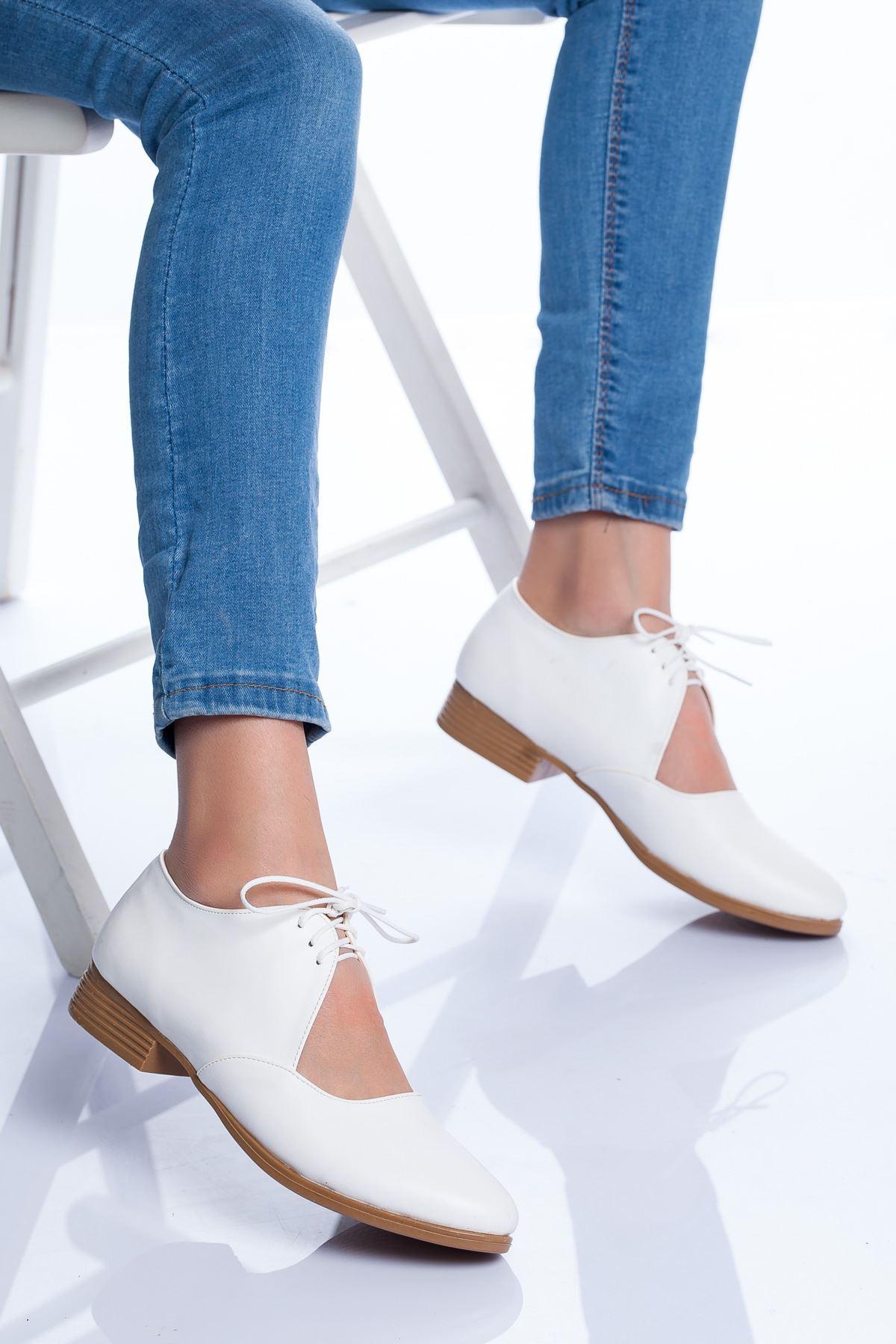 Kevon Babet Ayakkabı BEYAZ