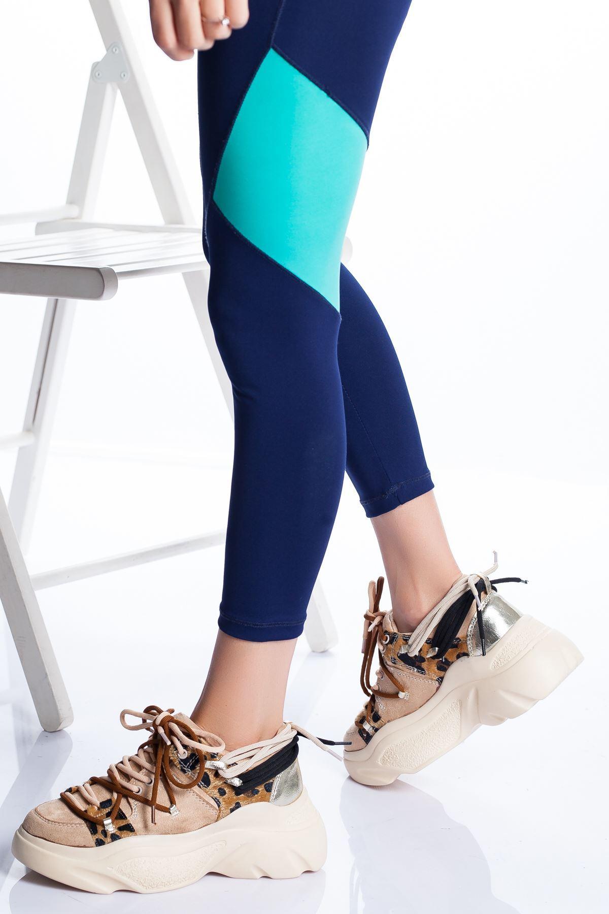 Nina Spor Ayakkabı TEN SÜET