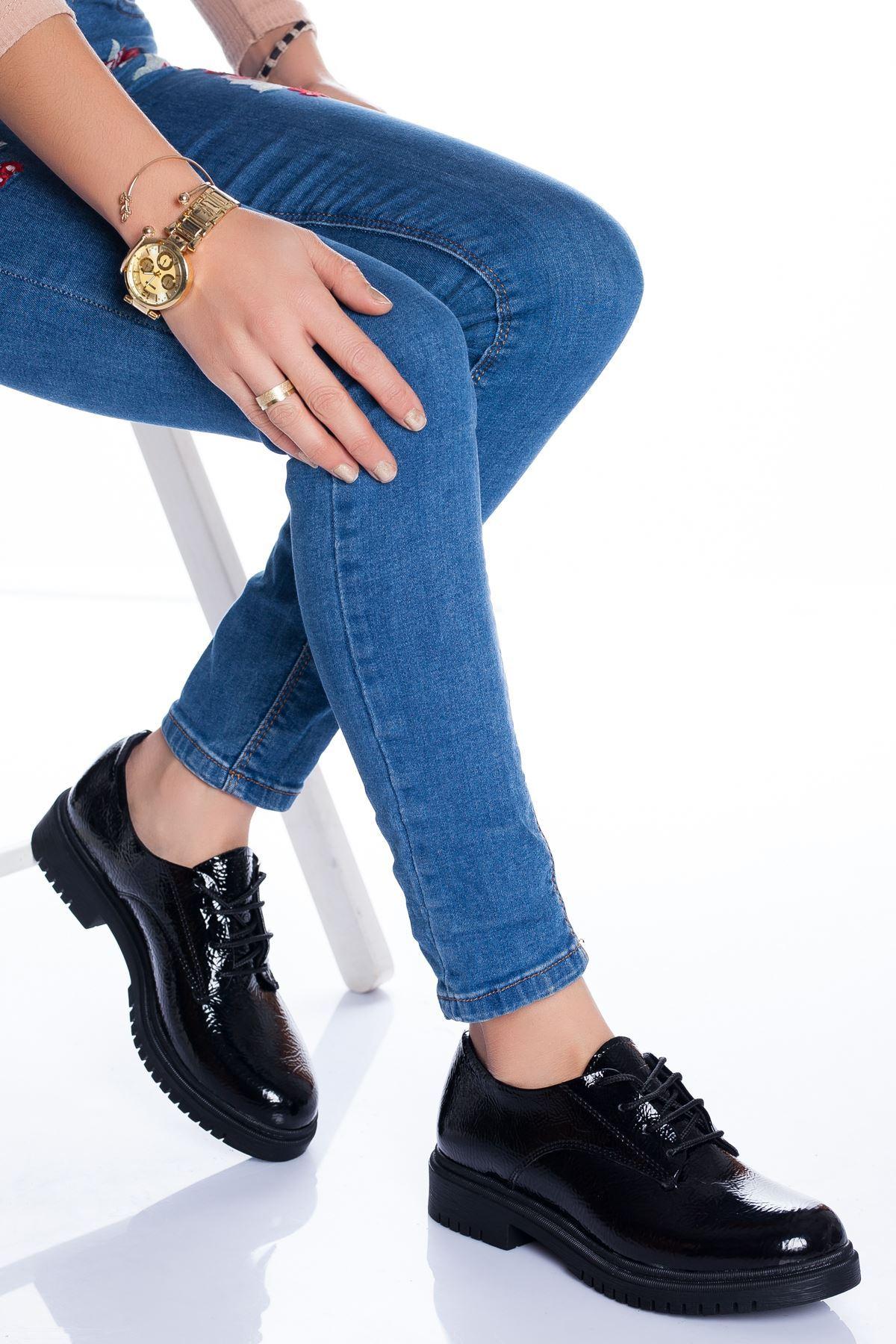 Ramona Ayakkabı SİYAH RUGAN