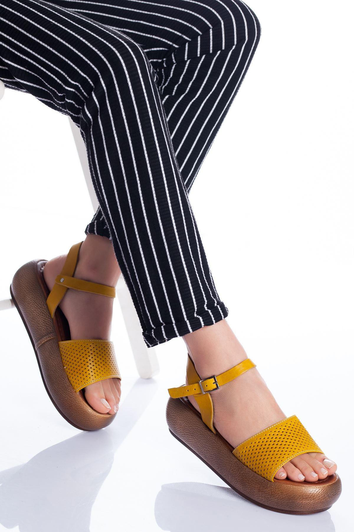 Loren Deri Sandalet SARI