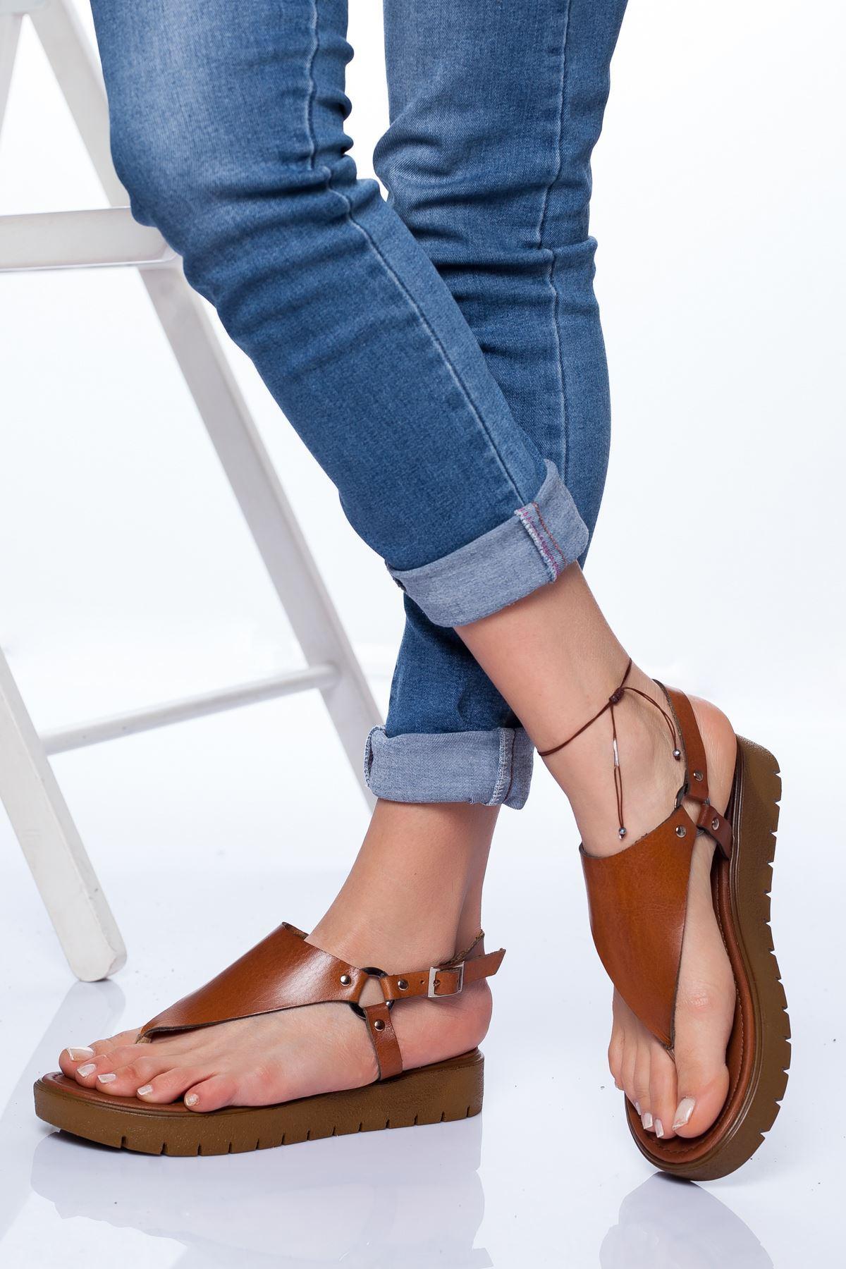 Alix Deri Sandalet TABA