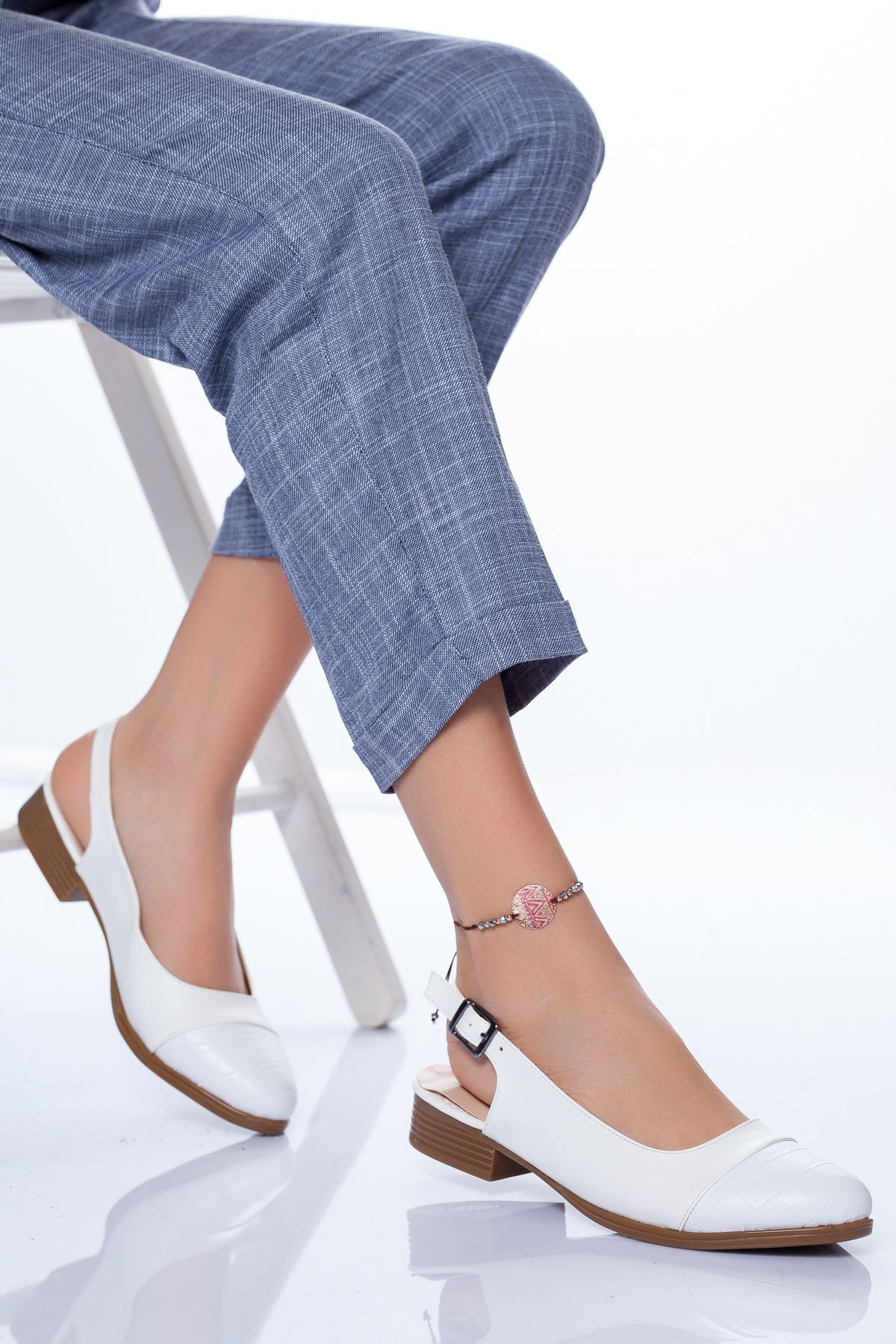 Raina Babet Ayakkabı BEYAZ