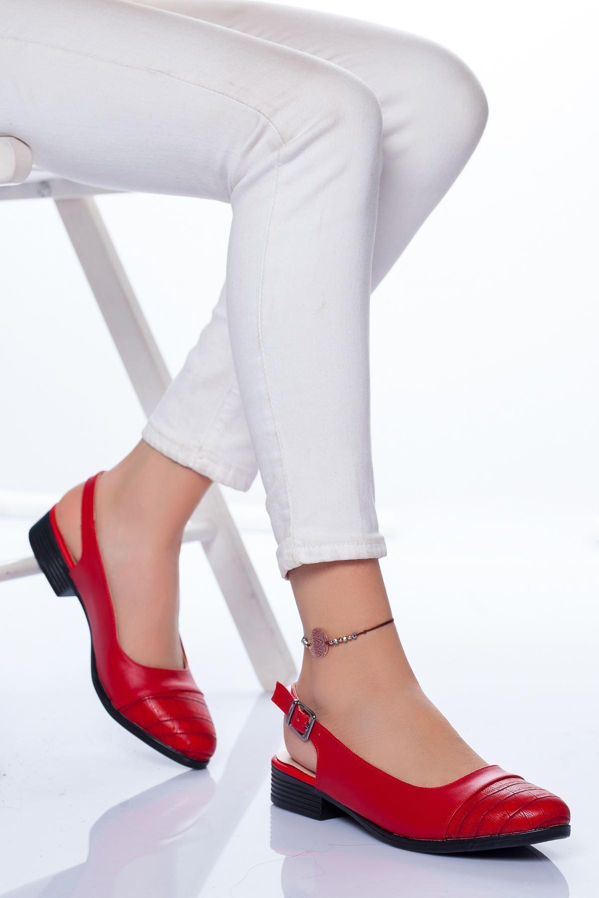 Raina Babet Ayakkabı KIRMIZI