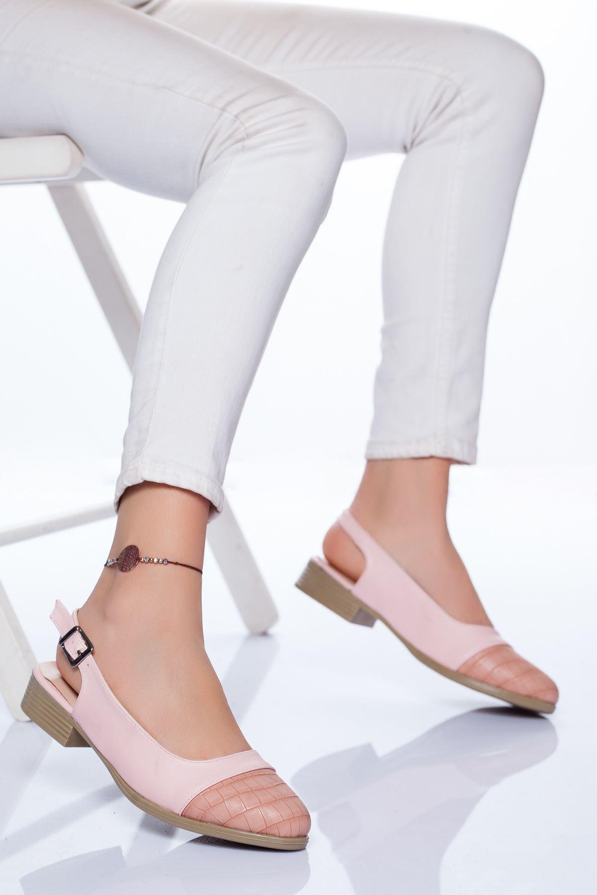 Raina Babet Ayakkabı PUDRA