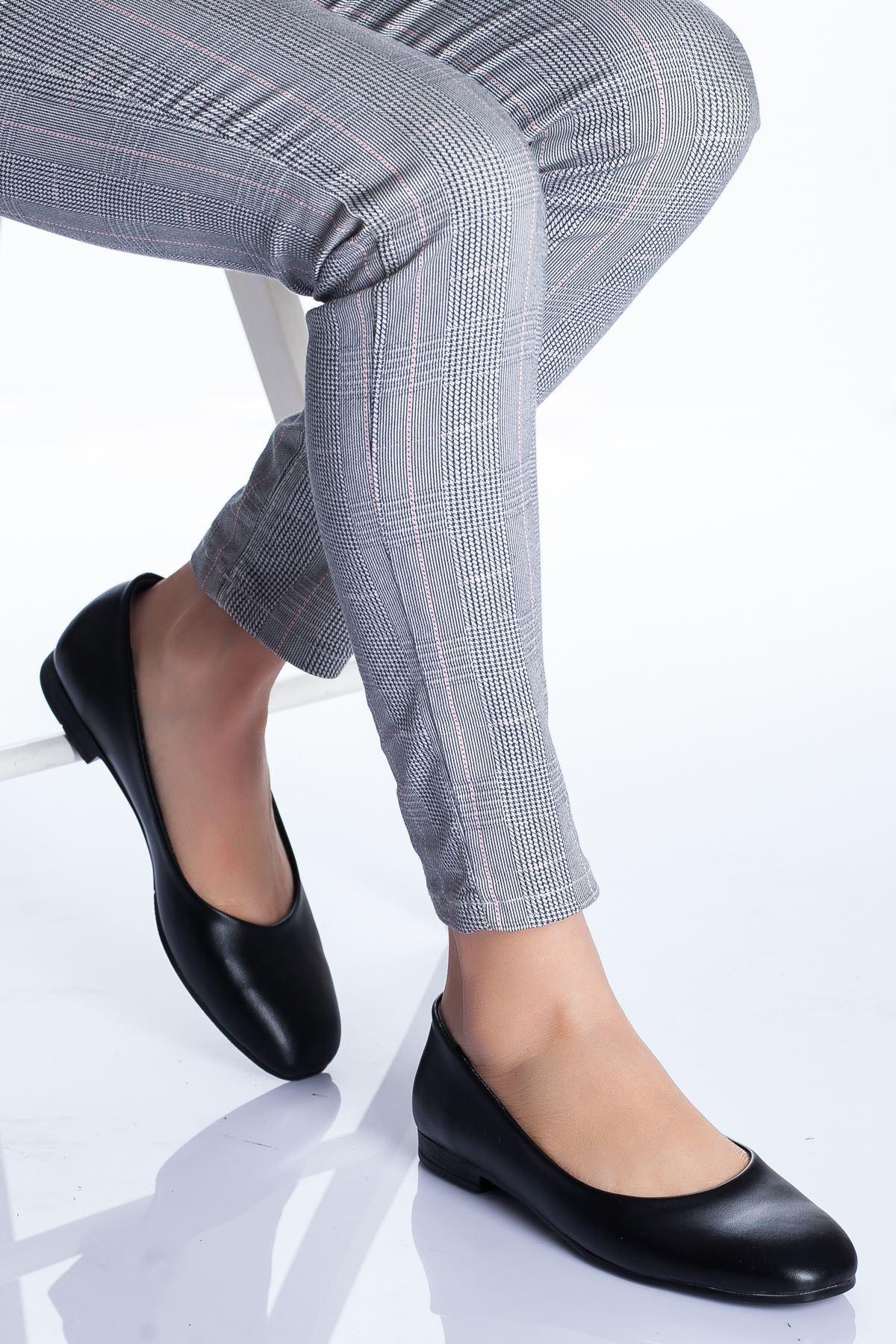 Zoya Babet Ayakkabı SİYAH CİLT