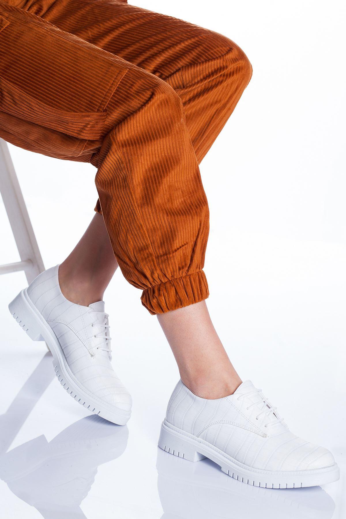 Ramona Ayakkabı BEYAZ CROC