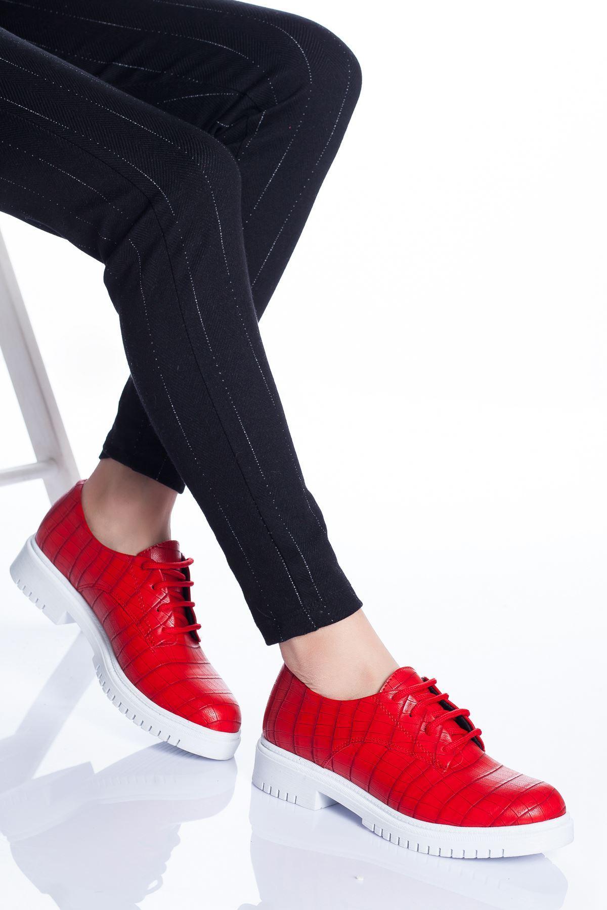 Ramona Ayakkabı KIRMIZI CROC
