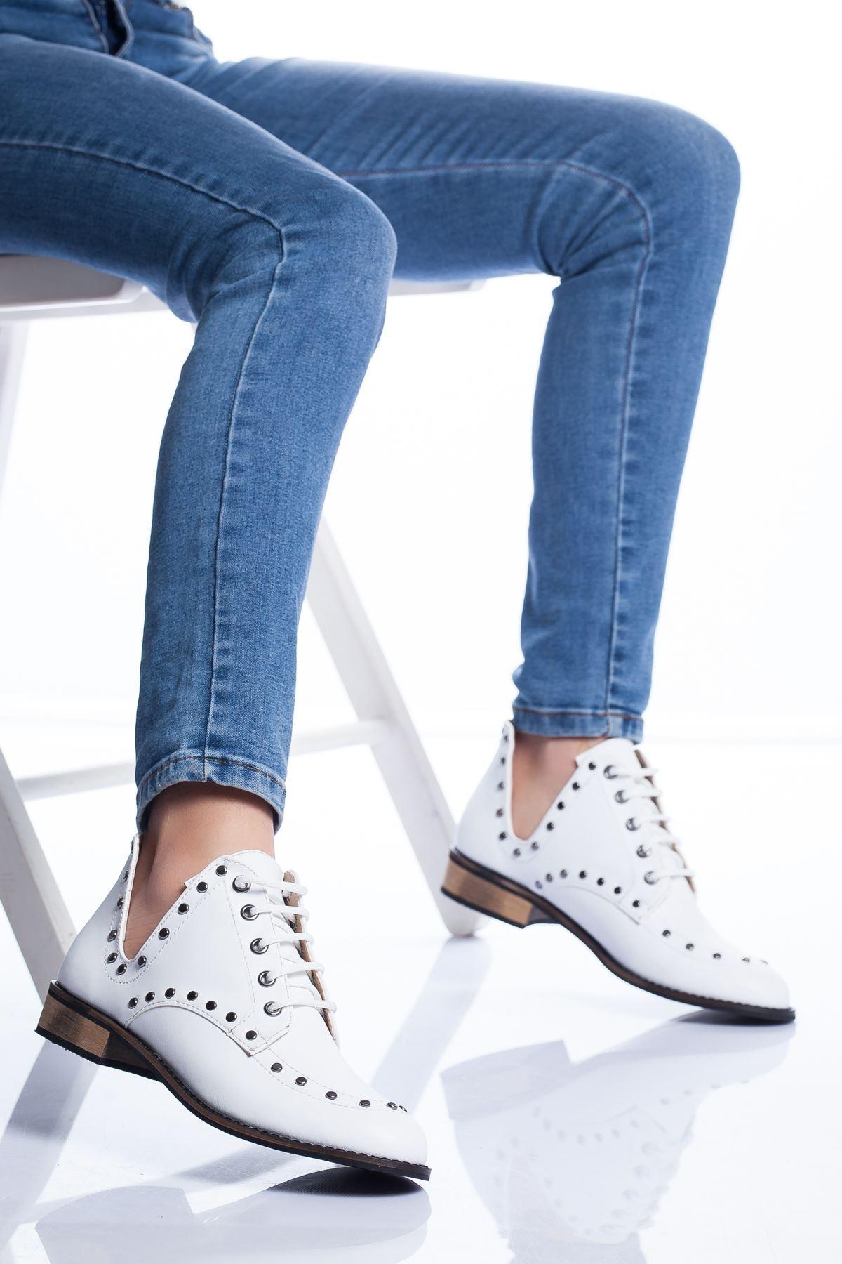 Rantor Ayakkabı BEYAZ CİLT