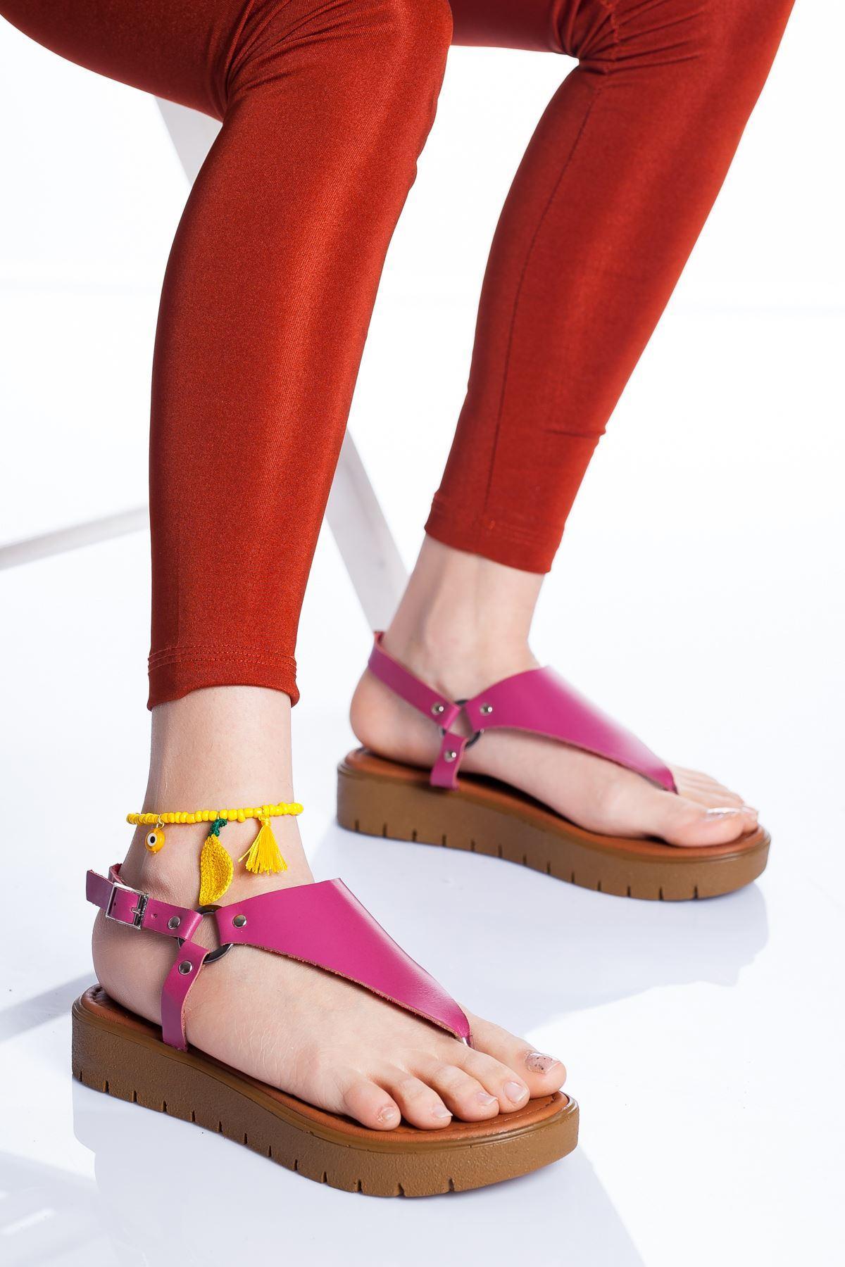 Alix Deri Sandalet FUJYA