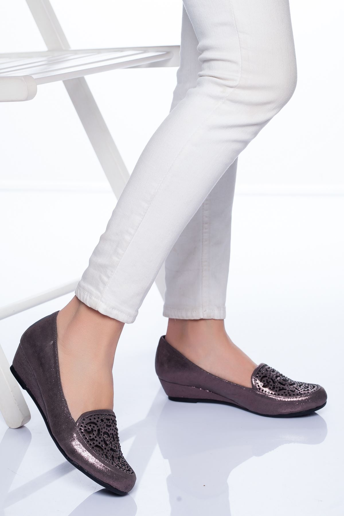 Tilda Babet Ayakkabı PLATİN
