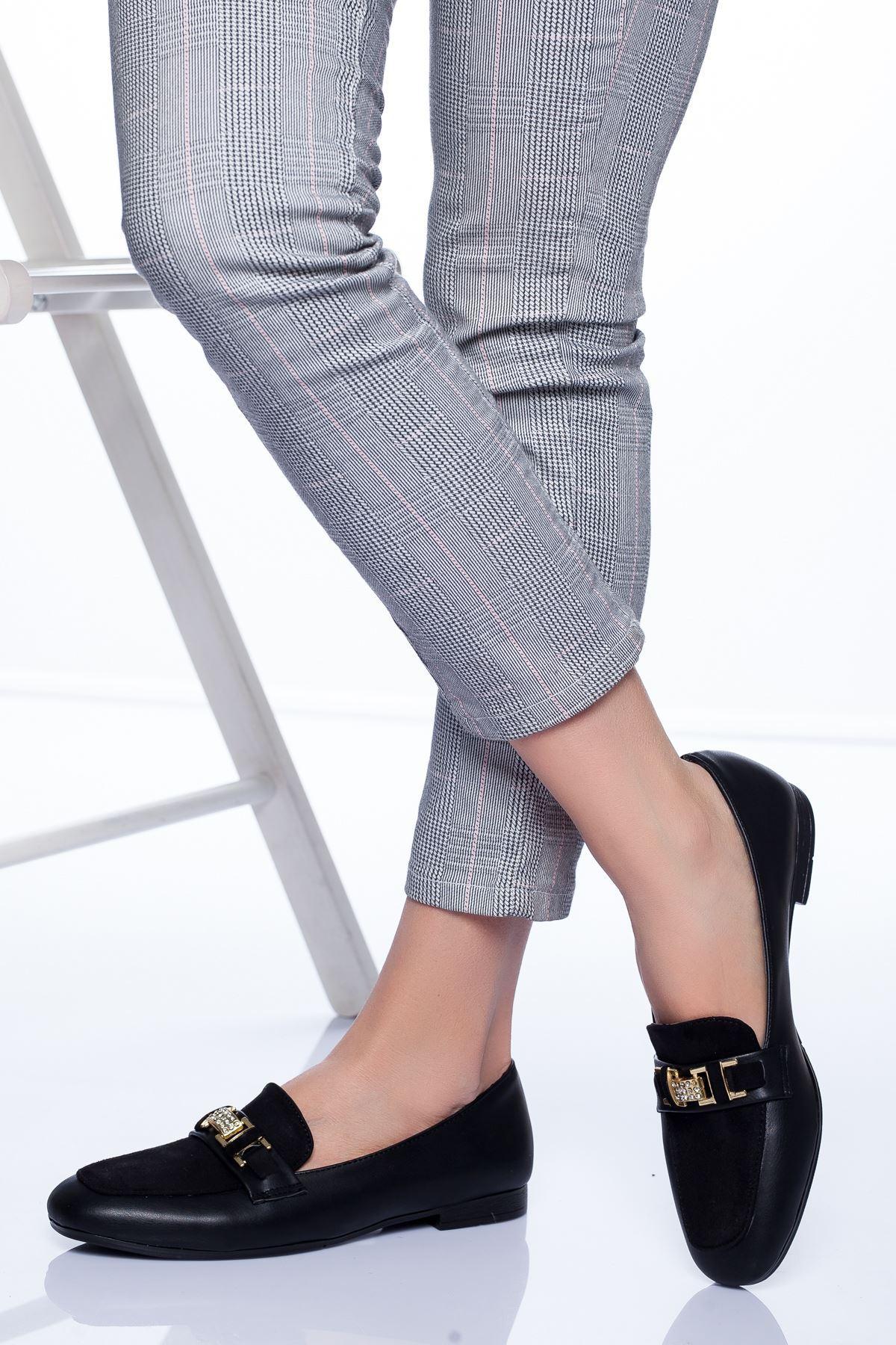 Taylor Babet Ayakkabı SİYAH SÜET