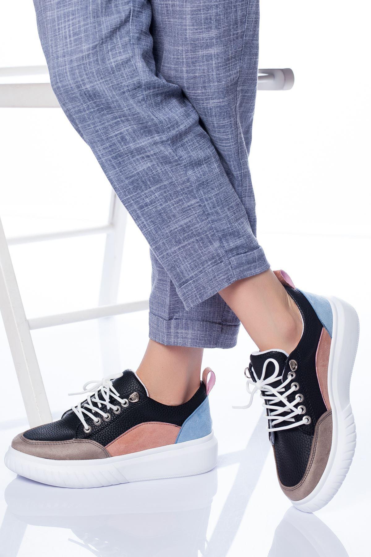 Figor Spor Ayakkabı SIYAH