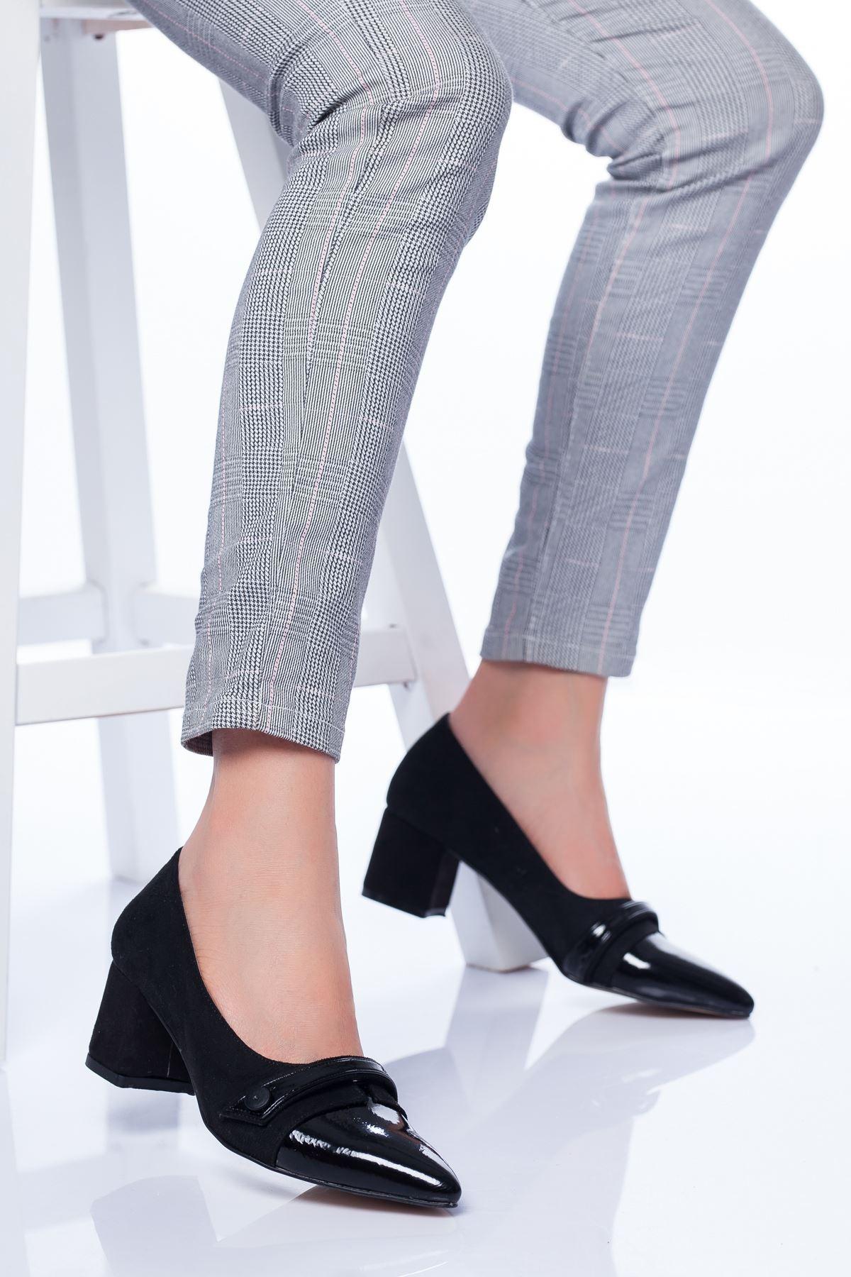 Rakita Topuklu Ayakkabı SİYAH SÜET
