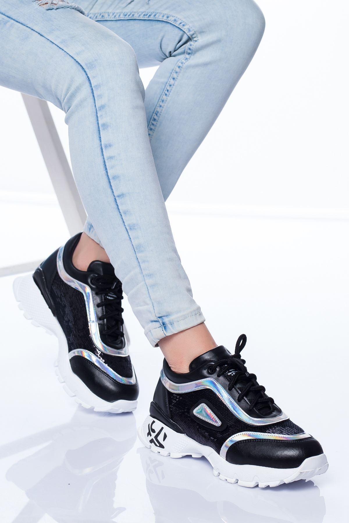 Conny Spor Ayakkabı SIYAH