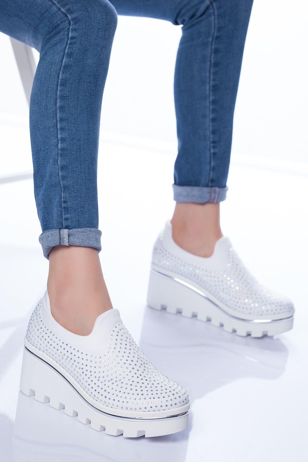 Almira Spor Ayakkabı BEYAZ