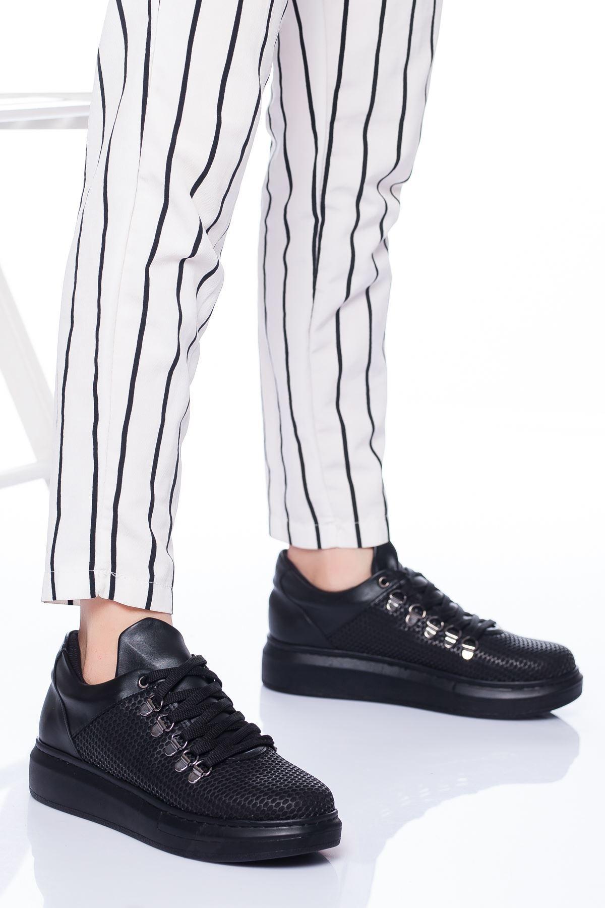 Gale Spor Ayakkabı SIYAH