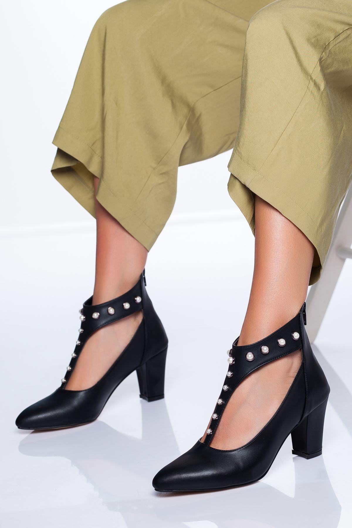 Risco Ayakkabı SİYAH CİLT