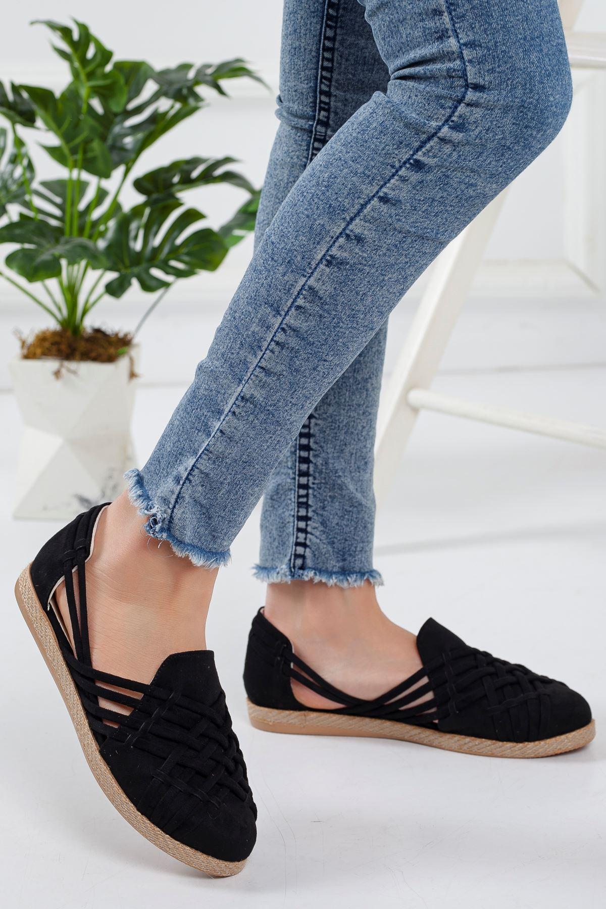 Motriz Babet Ayakkabı SİYAH SÜET