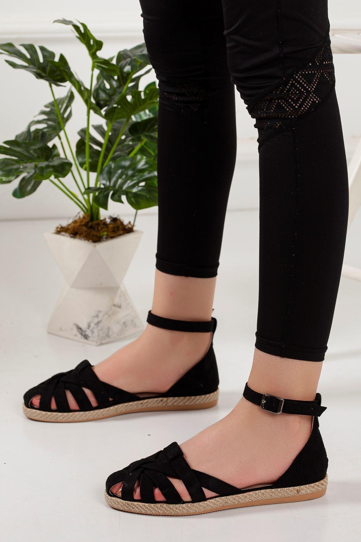 Teox Babet Ayakkabı SİYAH SÜET
