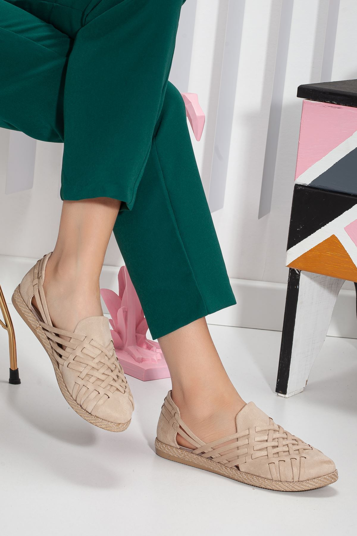 Motriz Babet Ayakkabı BEJ
