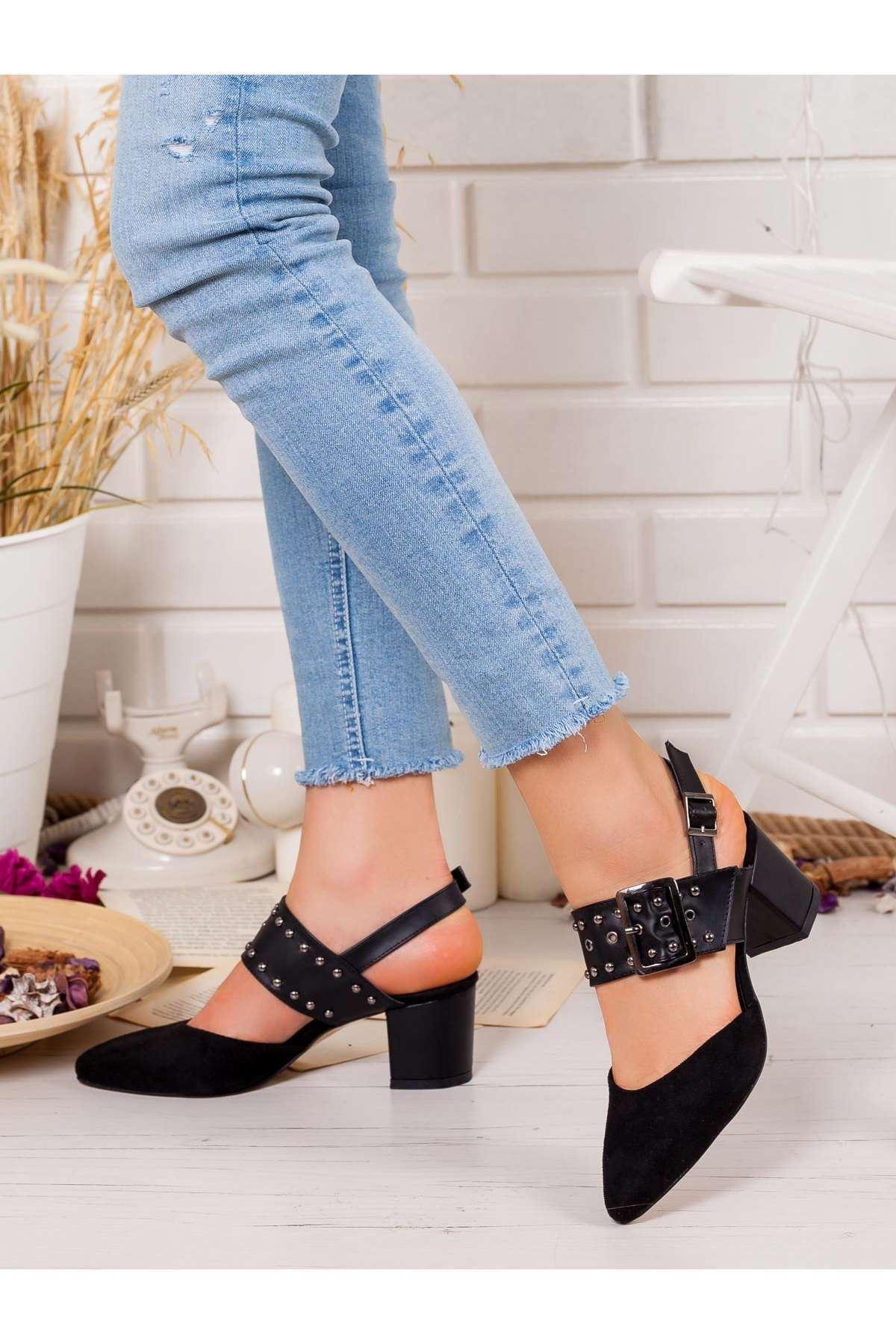 Esila Topuklu Ayakkabı SIYAH
